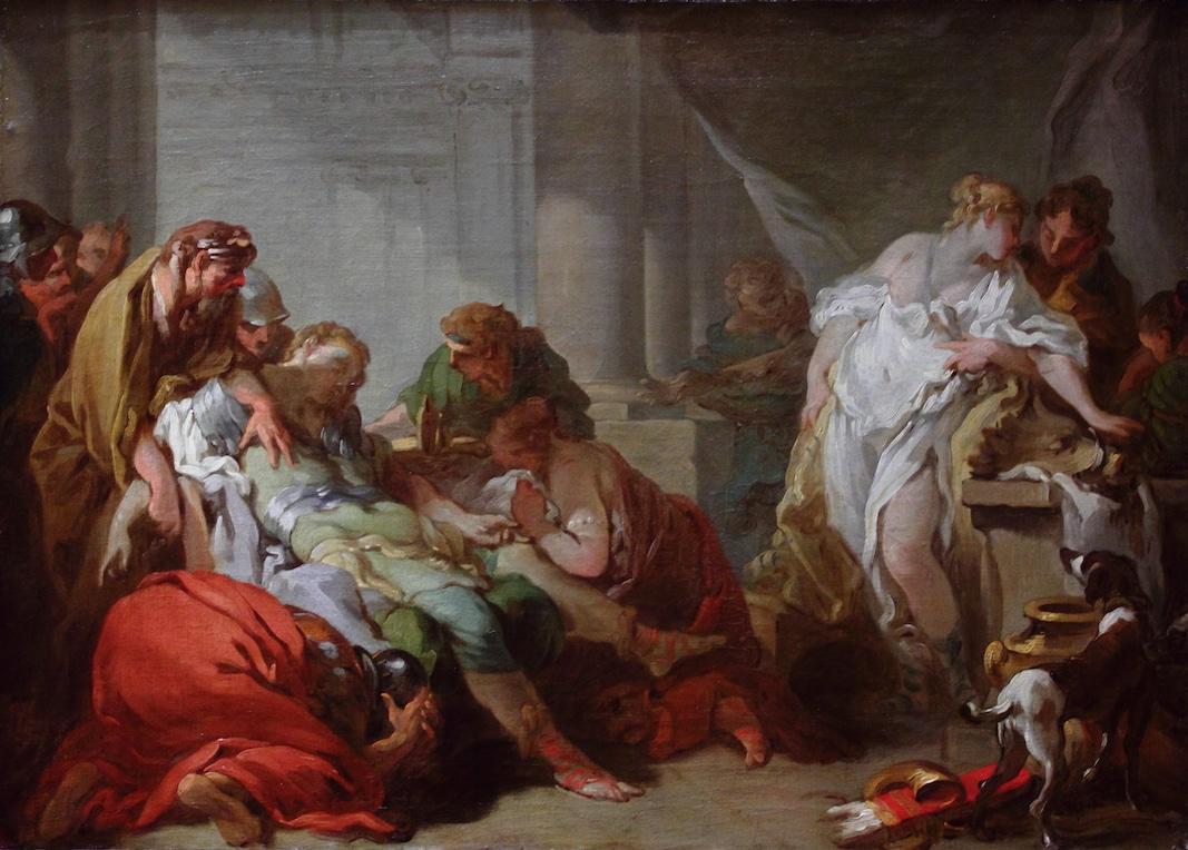 Boucher Hercule Méléagre - 12 travaux d'Hercule - La culture générale