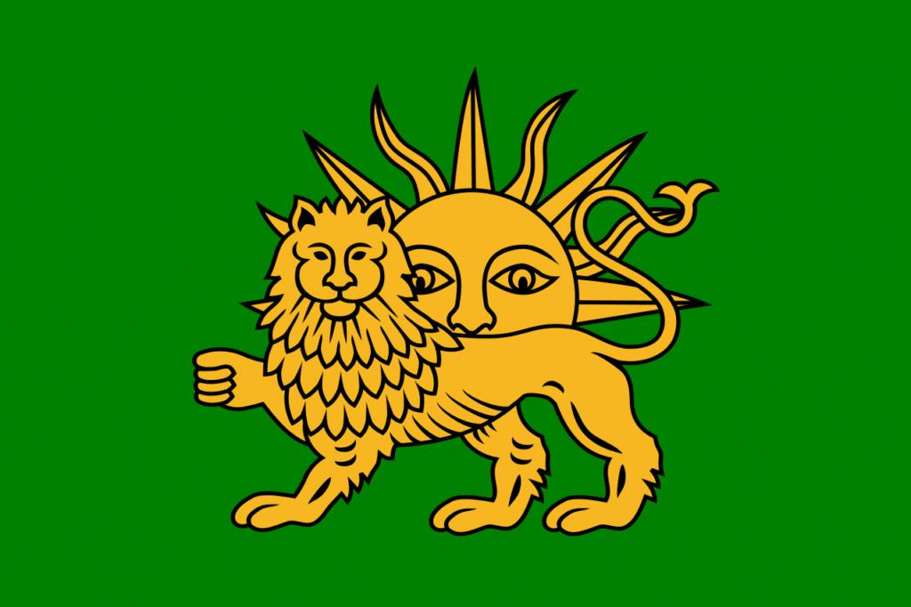drapeau safavides abbas le grand