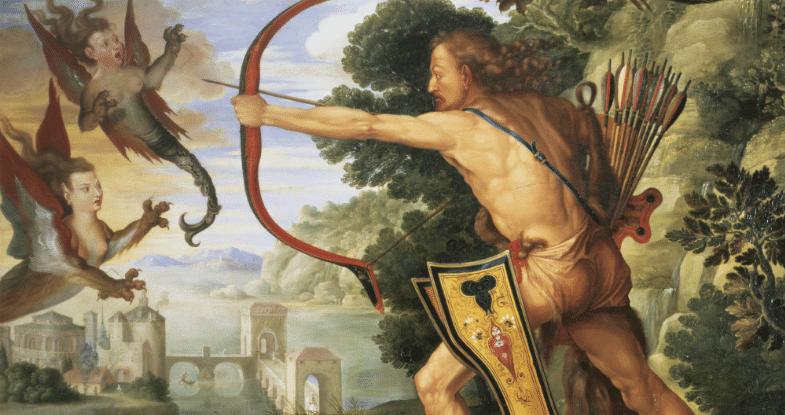Les 12 travaux d'Hercule - Lac stymphale