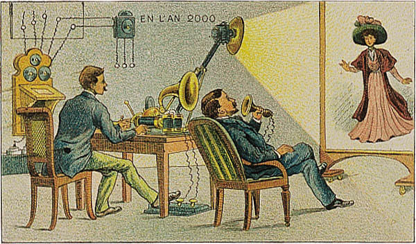 l'an 2000 imagine en 1900 cinema