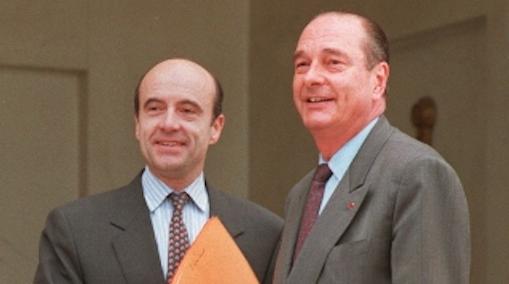 alain juppe chirac premier ministre