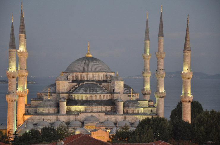 Mosquée bleue empire ottoman
