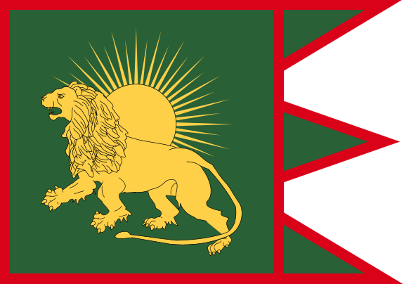 drapeau moghol empire