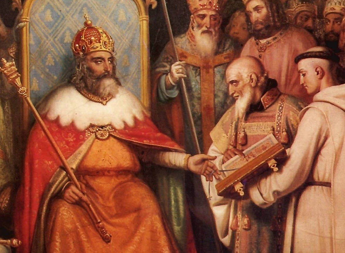 alcuin charlemagne