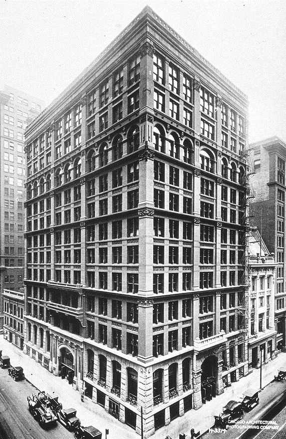 Home Insurance Building gratte ciel gilded age