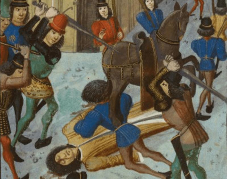 L'assassinat de Louis d'Orléans en en 1407