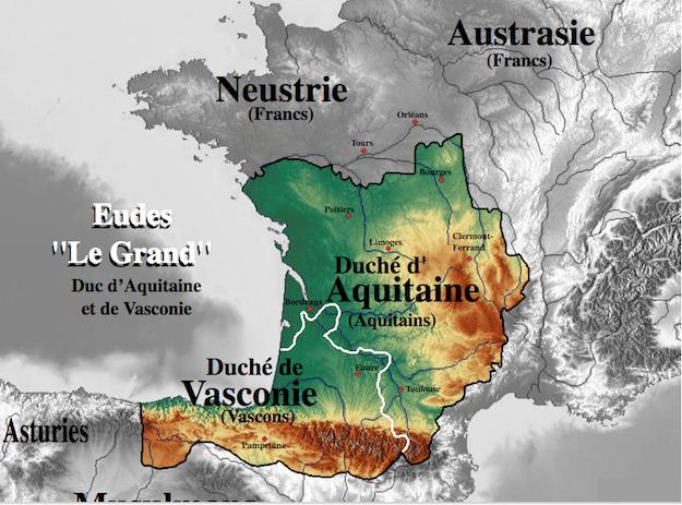 duche aquitaine bataille poitiers
