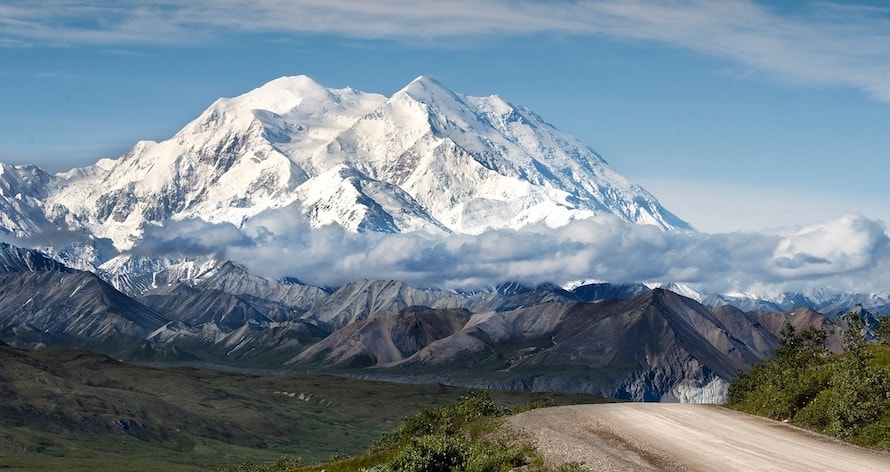 sept sommets point culminants denali
