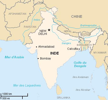 plus grands pays du monde inde