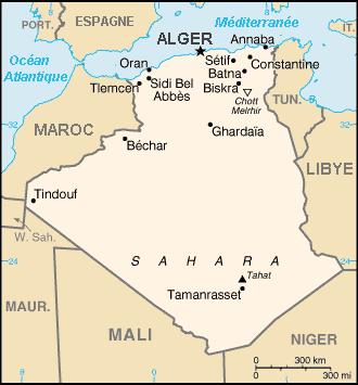 plus grand pays monde algerie