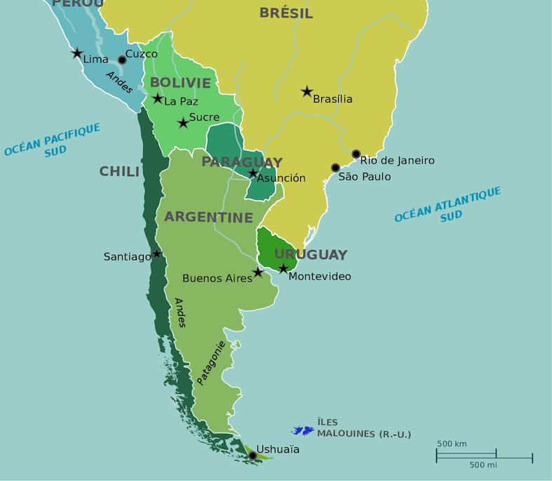plus grand pays monde argentine