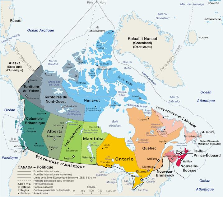 plus grand pays monde canada