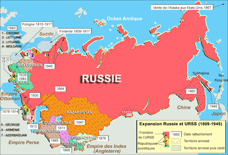 plus grand pays monde russie