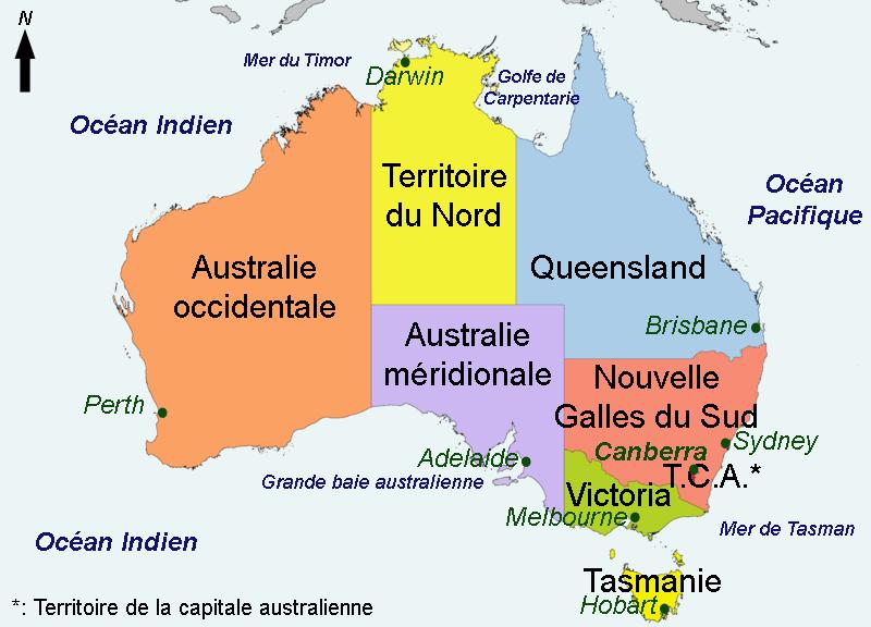 plus grands pays monde australie