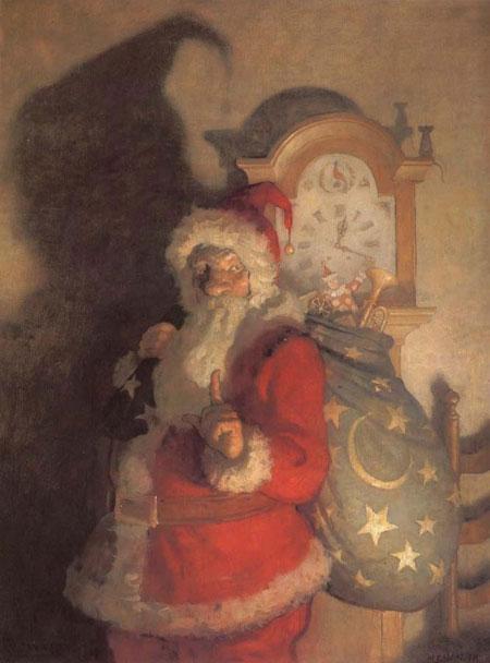 N. C. Wyeth pere noel