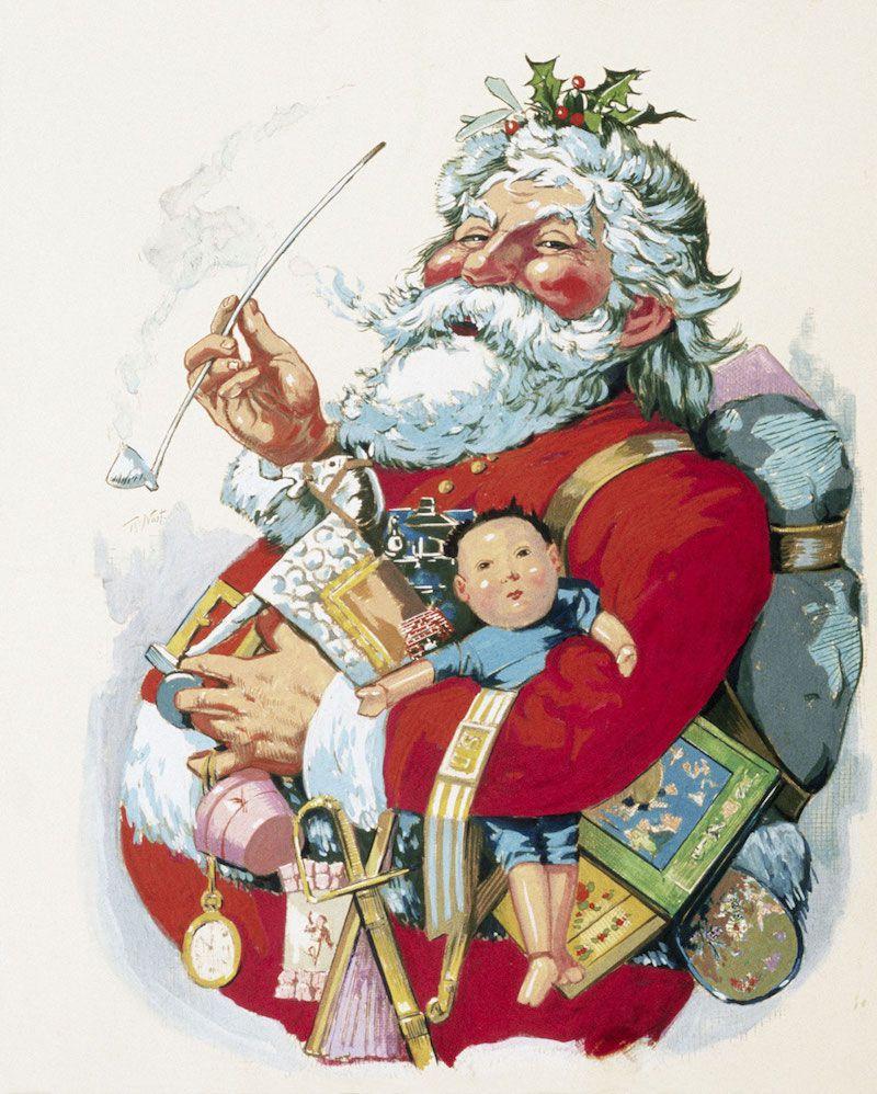 pourquoi pere Noël est-il en rouge